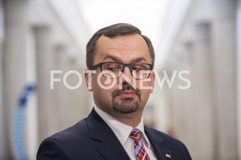 AGENCJA FOTONEWS - 12.06.2019 WARSZAWA SEJMPOSIEDZENIE SEJMU N/Z MARCIN HORALAFOT GRZEGORZ KRZYZEWSKI / FOTONEWS