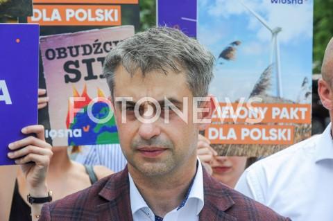 AGENCJA FOTONEWS - 26.06.2019 WARSZAWAKONFERENCJA PARTII WIOSNAN/Z KRZYSZTOF GAWKOWSKIFOT GRZEGORZ KRZYZEWSKI / FOTONEWS