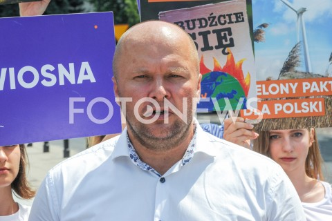 AGENCJA FOTONEWS - 26.06.2019 WARSZAWAKONFERENCJA PARTII WIOSNAN/Z SLAWOMIR GROMADZKIFOT GRZEGORZ KRZYZEWSKI / FOTONEWS