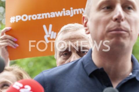 AGENCJA FOTONEWS - 05.07.2019 WARSZAWASTART BUSA KAMPANIJNEGO KOALICJI PLATFORMY OBYWATELSKIEJN/Z GRZEGORZ SCHETYNA KRZYSZTOF BREJZAFOT GRZEGORZ KRZYZEWSKI / FOTONEWS