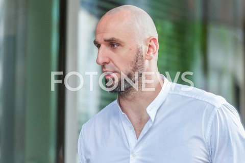 AGENCJA FOTONEWS - 07.07.2019 WARSZAWAGOSCIE PRZED STUDIEM DZIEN DOBRY TVNN/Z MARCIN GORTATFOT MAREK KONRAD / FOTONEWS