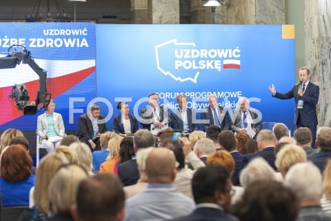 Drugi dzień Forum Programowego Koalicji Obywatelskiej w Warszawie
