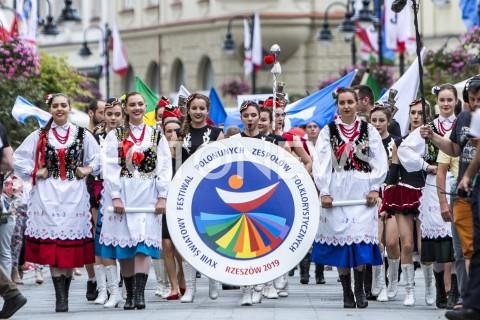XVIII Światowy Festiwal Polonijnych Zespołów Folklorystycznych w Rzeszowie