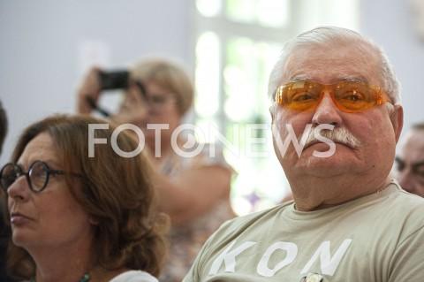 AGENCJA FOTONEWS - 20.07.2019 WARSZAWAOBYWATELSKA POMOC WYBORCZA Z UDZIALEM LECHA WALESYN/Z LECH WALESA MALGORZATA KIDAWA BLONSKAFOT GRZEGORZ KRZYZEWSKI / FOTONEWS