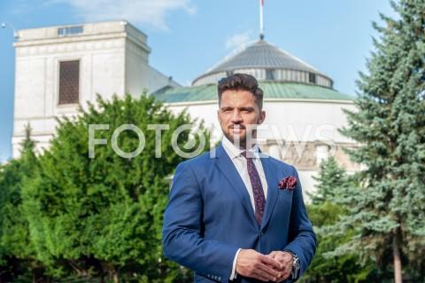 Piotr Cieśliński - sesja w Warszawie