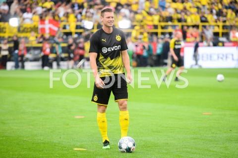 AGENCJA FOTONEWS - 03.08.2019 DORTMUNDPILKA NOZNA - SUPERPUCHAR NIEMIEC 2019(Football - Germany Supercup 2019)MECZ BORUSSIA DORTMUND - BAYERN MONACHIUM(Borussia Dortmund - Bayern Munich)N/Z LUKASZ PISZCZEK SYLWETKAFOT MATEUSZ SLODKOWSKI / FOTONEWS