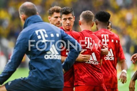 AGENCJA FOTONEWS - 03.08.2019 DORTMUNDPILKA NOZNA - SUPERPUCHAR NIEMIEC 2019(Football - Germany Supercup 2019)MECZ BORUSSIA DORTMUND - BAYERN MONACHIUM(Borussia Dortmund - Bayern Munich)N/Z ROBERT LEWANDOWSKIFOT MATEUSZ SLODKOWSKI / FOTONEWS