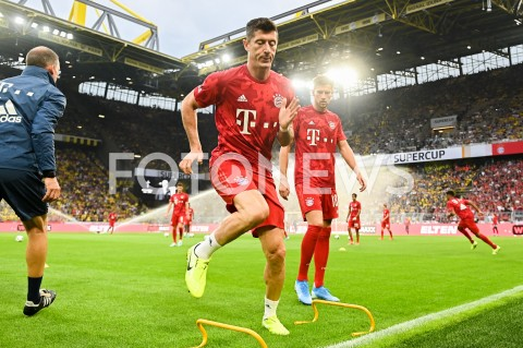 AGENCJA FOTONEWS - 03.08.2019 DORTMUNDPILKA NOZNA - SUPERPUCHAR NIEMIEC 2019(Football - Germany Supercup 2019)MECZ BORUSSIA DORTMUND - BAYERN MONACHIUM(Borussia Dortmund - Bayern Munich)N/Z ROBERT LEWANDOWSKI SYLWETKA TRENINGFOT MATEUSZ SLODKOWSKI / FOTONEWS
