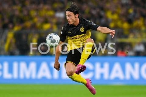 AGENCJA FOTONEWS - 03.08.2019 DORTMUNDPILKA NOZNA - SUPERPUCHAR NIEMIEC 2019(Football - Germany Supercup 2019)MECZ BORUSSIA DORTMUND - BAYERN MONACHIUM(Borussia Dortmund - Bayern Munich)N/Z NICO SCHULZ SYLWETKAFOT MATEUSZ SLODKOWSKI / FOTONEWS