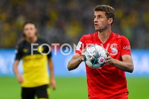 AGENCJA FOTONEWS - 03.08.2019 DORTMUNDPILKA NOZNA - SUPERPUCHAR NIEMIEC 2019(Football - Germany Supercup 2019)MECZ BORUSSIA DORTMUND - BAYERN MONACHIUM(Borussia Dortmund - Bayern Munich)N/Z THOMAS MULLER SYLWETKAFOT MATEUSZ SLODKOWSKI / FOTONEWS
