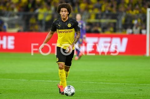 AGENCJA FOTONEWS - 03.08.2019 DORTMUNDPILKA NOZNA - SUPERPUCHAR NIEMIEC 2019(Football - Germany Supercup 2019)MECZ BORUSSIA DORTMUND - BAYERN MONACHIUM(Borussia Dortmund - Bayern Munich)N/Z AXEL WITSEL SYLWETKAFOT MATEUSZ SLODKOWSKI / FOTONEWS