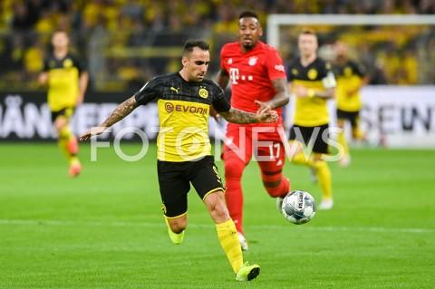 AGENCJA FOTONEWS - 03.08.2019 DORTMUNDPILKA NOZNA - SUPERPUCHAR NIEMIEC 2019(Football - Germany Supercup 2019)MECZ BORUSSIA DORTMUND - BAYERN MONACHIUM(Borussia Dortmund - Bayern Munich)N/Z PACO ALCACER SYLWETKAFOT MATEUSZ SLODKOWSKI / FOTONEWS