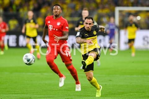 AGENCJA FOTONEWS - 03.08.2019 DORTMUNDPILKA NOZNA - SUPERPUCHAR NIEMIEC 2019(Football - Germany Supercup 2019)MECZ BORUSSIA DORTMUND - BAYERN MONACHIUM(Borussia Dortmund - Bayern Munich)N/Z PACO ALCACERFOT MATEUSZ SLODKOWSKI / FOTONEWS