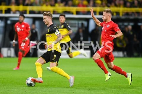 AGENCJA FOTONEWS - 03.08.2019 DORTMUNDPILKA NOZNA - SUPERPUCHAR NIEMIEC 2019(Football - Germany Supercup 2019)MECZ BORUSSIA DORTMUND - BAYERN MONACHIUM(Borussia Dortmund - Bayern Munich)N/Z MARCO REUS JOSHUA KIMMICHFOT MATEUSZ SLODKOWSKI / FOTONEWS