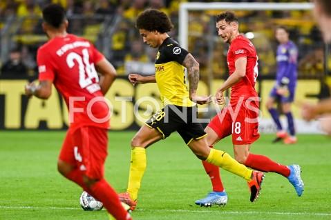 AGENCJA FOTONEWS - 03.08.2019 DORTMUNDPILKA NOZNA - SUPERPUCHAR NIEMIEC 2019(Football - Germany Supercup 2019)MECZ BORUSSIA DORTMUND - BAYERN MONACHIUM(Borussia Dortmund - Bayern Munich)N/Z AXEL WITSEL LEON GORETZKAFOT MATEUSZ SLODKOWSKI / FOTONEWS