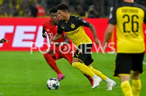 AGENCJA FOTONEWS - 03.08.2019 DORTMUNDPILKA NOZNA - SUPERPUCHAR NIEMIEC 2019(Football - Germany Supercup 2019)MECZ BORUSSIA DORTMUND - BAYERN MONACHIUM(Borussia Dortmund - Bayern Munich)N/Z DAVID ALABA JADON SANCHOFOT MATEUSZ SLODKOWSKI / FOTONEWS