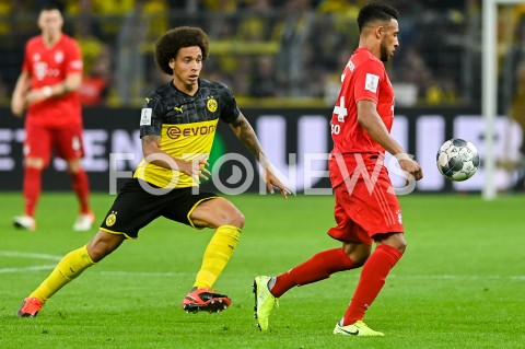 AGENCJA FOTONEWS - 03.08.2019 DORTMUNDPILKA NOZNA - SUPERPUCHAR NIEMIEC 2019(Football - Germany Supercup 2019)MECZ BORUSSIA DORTMUND - BAYERN MONACHIUM(Borussia Dortmund - Bayern Munich)N/Z AXEL WITSEL CORENTIN TOLISSOFOT MATEUSZ SLODKOWSKI / FOTONEWS