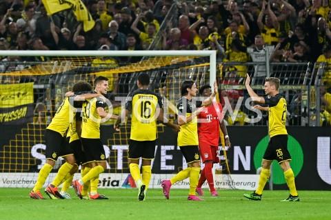AGENCJA FOTONEWS - 03.08.2019 DORTMUNDPILKA NOZNA - SUPERPUCHAR NIEMIEC 2019(Football - Germany Supercup 2019)MECZ BORUSSIA DORTMUND - BAYERN MONACHIUM(Borussia Dortmund - Bayern Munich)N/Z PACO ALCACER RADOSC BRAMKA GOL NA 1:0 BORUSSIA DORTMUNDFOT MATEUSZ SLODKOWSKI / FOTONEWS