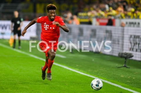 AGENCJA FOTONEWS - 03.08.2019 DORTMUNDPILKA NOZNA - SUPERPUCHAR NIEMIEC 2019(Football - Germany Supercup 2019)MECZ BORUSSIA DORTMUND - BAYERN MONACHIUM(Borussia Dortmund - Bayern Munich)N/Z KINGSLEY COMAN SYLWETKAFOT MATEUSZ SLODKOWSKI / FOTONEWS