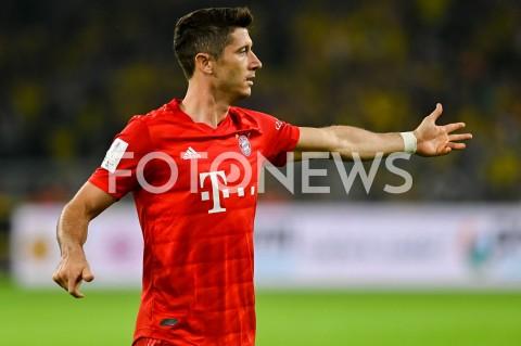 AGENCJA FOTONEWS - 03.08.2019 DORTMUNDPILKA NOZNA - SUPERPUCHAR NIEMIEC 2019(Football - Germany Supercup 2019)MECZ BORUSSIA DORTMUND - BAYERN MONACHIUM(Borussia Dortmund - Bayern Munich)N/Z ROBERT LEWANDOWSKI SYLWETKAFOT MATEUSZ SLODKOWSKI / FOTONEWS