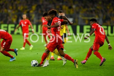 AGENCJA FOTONEWS - 03.08.2019 DORTMUNDPILKA NOZNA - SUPERPUCHAR NIEMIEC 2019(Football - Germany Supercup 2019)MECZ BORUSSIA DORTMUND - BAYERN MONACHIUM(Borussia Dortmund - Bayern Munich)N/Z KINGSLEY COMANFOT MATEUSZ SLODKOWSKI / FOTONEWS