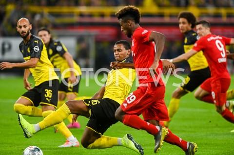 AGENCJA FOTONEWS - 03.08.2019 DORTMUNDPILKA NOZNA - SUPERPUCHAR NIEMIEC 2019(Football - Germany Supercup 2019)MECZ BORUSSIA DORTMUND - BAYERN MONACHIUM(Borussia Dortmund - Bayern Munich)N/Z MANUEL AKANJI KINGSLEY COMANFOT MATEUSZ SLODKOWSKI / FOTONEWS