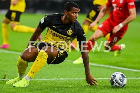 AGENCJA FOTONEWS - 03.08.2019 DORTMUNDPILKA NOZNA - SUPERPUCHAR NIEMIEC 2019(Football - Germany Supercup 2019)MECZ BORUSSIA DORTMUND - BAYERN MONACHIUM(Borussia Dortmund - Bayern Munich)N/Z MANUEL AKANJI SYLWETKAFOT MATEUSZ SLODKOWSKI / FOTONEWS