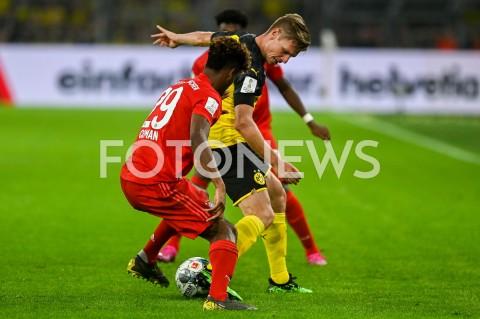 AGENCJA FOTONEWS - 03.08.2019 DORTMUNDPILKA NOZNA - SUPERPUCHAR NIEMIEC 2019(Football - Germany Supercup 2019)MECZ BORUSSIA DORTMUND - BAYERN MONACHIUM(Borussia Dortmund - Bayern Munich)N/Z KINGSLEY COMAN LUKASZ PISZCZEKFOT MATEUSZ SLODKOWSKI / FOTONEWS