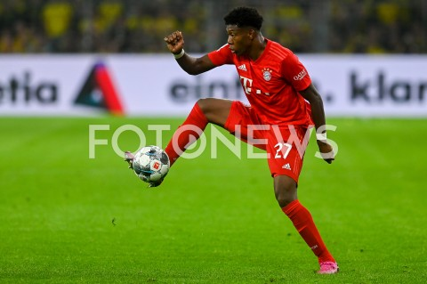 AGENCJA FOTONEWS - 03.08.2019 DORTMUNDPILKA NOZNA - SUPERPUCHAR NIEMIEC 2019(Football - Germany Supercup 2019)MECZ BORUSSIA DORTMUND - BAYERN MONACHIUM(Borussia Dortmund - Bayern Munich)N/Z DAVID ALABA SYLWETKAFOT MATEUSZ SLODKOWSKI / FOTONEWS
