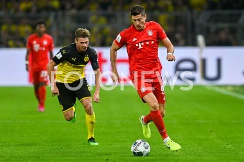AGENCJA FOTONEWS - 03.08.2019 DORTMUNDPILKA NOZNA - SUPERPUCHAR NIEMIEC 2019(Football - Germany Supercup 2019)MECZ BORUSSIA DORTMUND - BAYERN MONACHIUM(Borussia Dortmund - Bayern Munich)N/Z LUKASZ PISZCZEK ROBERT LEWANDOWSKIFOT MATEUSZ SLODKOWSKI / FOTONEWS