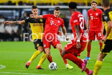 AGENCJA FOTONEWS - 03.08.2019 DORTMUNDPILKA NOZNA - SUPERPUCHAR NIEMIEC 2019(Football - Germany Supercup 2019)MECZ BORUSSIA DORTMUND - BAYERN MONACHIUM(Borussia Dortmund - Bayern Munich)N/Z JULIAN WEIGL ROBERT LEWANDOWSKIFOT MATEUSZ SLODKOWSKI / FOTONEWS