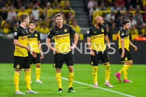 AGENCJA FOTONEWS - 03.08.2019 DORTMUNDPILKA NOZNA - SUPERPUCHAR NIEMIEC 2019(Football - Germany Supercup 2019)MECZ BORUSSIA DORTMUND - BAYERN MONACHIUM(Borussia Dortmund - Bayern Munich)N/Z LUKASZ PISZCZEK BORUSSIA DORTMUNDFOT MATEUSZ SLODKOWSKI / FOTONEWS