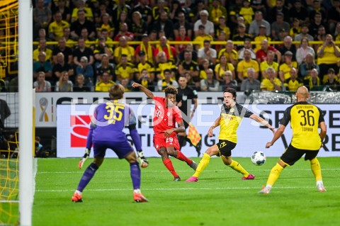 AGENCJA FOTONEWS - 03.08.2019 DORTMUNDPILKA NOZNA - SUPERPUCHAR NIEMIEC 2019(Football - Germany Supercup 2019)MECZ BORUSSIA DORTMUND - BAYERN MONACHIUM(Borussia Dortmund - Bayern Munich)N/Z KINGSLEY COMAN NICO SCHULZFOT MATEUSZ SLODKOWSKI / FOTONEWS