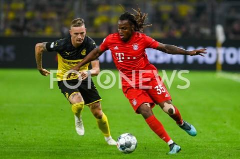 AGENCJA FOTONEWS - 03.08.2019 DORTMUNDPILKA NOZNA - SUPERPUCHAR NIEMIEC 2019(Football - Germany Supercup 2019)MECZ BORUSSIA DORTMUND - BAYERN MONACHIUM(Borussia Dortmund - Bayern Munich)N/Z RENATO SANCHES SYLWETKAFOT MATEUSZ SLODKOWSKI / FOTONEWS