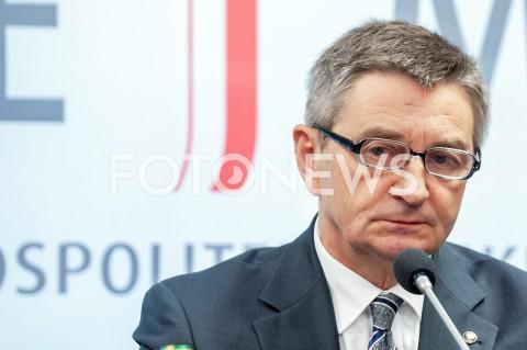 Oświadczenie marszałka Sejmu Marka Kuchcińskiego w Warszawie