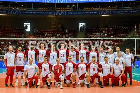 AGENCJA FOTONEWS - 09.08.2019 GDANSKSIATKOWKA - TURNIEJ KWALIFIKACYJNY FIVB DO IGRZYSK OLIMPIJSKICH TOKIO 2020MECZ POLSKA - TUNEZJAVolleyball - Olympic Games FIVB Qualifiers Tournament Pool DPoland - TunisiaN/Z REPREZENTACJA POLSKI DRUZYNA ZDJECIE GRUPOWE TEAMFOT MATEUSZ SLODKOWSKI / FOTONEWS