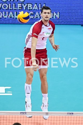 AGENCJA FOTONEWS - 09.08.2019 GDANSKSIATKOWKA - TURNIEJ KWALIFIKACYJNY FIVB DO IGRZYSK OLIMPIJSKICH TOKIO 2020MECZ POLSKA - TUNEZJAVolleyball - Olympic Games FIVB Qualifiers Tournament Pool DPoland - TunisiaN/Z PIOTR NOWAKOWSKI SYLWETKAFOT MATEUSZ SLODKOWSKI / FOTONEWS