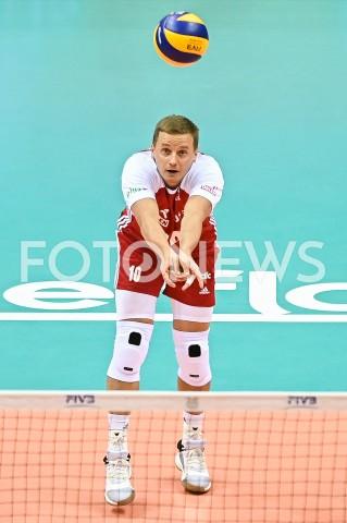 AGENCJA FOTONEWS - 09.08.2019 GDANSKSIATKOWKA - TURNIEJ KWALIFIKACYJNY FIVB DO IGRZYSK OLIMPIJSKICH TOKIO 2020MECZ POLSKA - TUNEZJAVolleyball - Olympic Games FIVB Qualifiers Tournament Pool DPoland - TunisiaN/Z DAMIAN WOJTASZEK SYLWETKAFOT MATEUSZ SLODKOWSKI / FOTONEWS