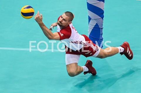 AGENCJA FOTONEWS - 09.08.2019 GDANSKSIATKOWKA - TURNIEJ KWALIFIKACYJNY FIVB DO IGRZYSK OLIMPIJSKICH TOKIO 2020MECZ POLSKA - TUNEZJAVolleyball - Olympic Games FIVB Qualifiers Tournament Pool DPoland - TunisiaN/Z DAWID KONARSKI SYLWETKAFOT MATEUSZ SLODKOWSKI / FOTONEWS