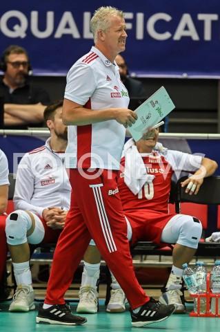 AGENCJA FOTONEWS - 09.08.2019 GDANSKSIATKOWKA - TURNIEJ KWALIFIKACYJNY FIVB DO IGRZYSK OLIMPIJSKICH TOKIO 2020MECZ POLSKA - TUNEZJAVolleyball - Olympic Games FIVB Qualifiers Tournament Pool DPoland - TunisiaN/Z VITAL HEYNEN SYLWETKAFOT MATEUSZ SLODKOWSKI / FOTONEWS