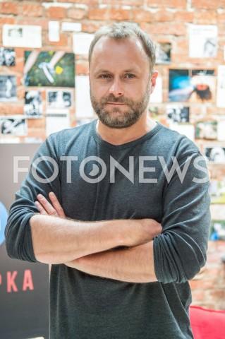 AGENCJA FOTONEWS - 28.08.2019 WARSZAWA SPOTKANIE PRASOWE SERIALU TVN PULAPKA W WARSZAWIEN/Z LESZEK LICHOTAFOT JACEK MYSZKOWSKI/FOTONEWS