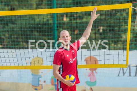 AGENCJA FOTONEWS - 28.08.2019 ARLAMOW ZGRUPOWANIE REPREZENTACJI POLSKI SIATKARZY W ARLAMOWIE SIATKARZE REPREZENTACJI POLSKI TRENUJA PRZED MISTRZOSTWAMI EUROPY W ARLAMOWIE N/Z BARTOSZ BARTEK KUREK FOT MACIEJ GOCLON / FOTONEWS