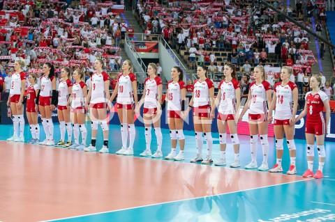AGENCJA FOTONEWS - 29.08.2019 LODZ ( POLAND )SIATKOWKA KOBIET MISTRZOSTWA EUROPY KOBIET CEV EUROVOLLEY 2019 WOMEN EUROPEAN CHAMPIONSHIP MECZ POLSKA - WLOCHY ( Poland - Italy ) N/Z REPREZENTACJA SIATKARKI POLSKI ZAWODNICZKIFOT ARTUR MARCINKOWSKI / FOTONEWS