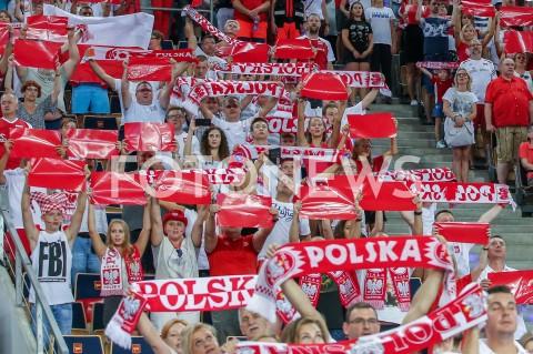 AGENCJA FOTONEWS - 29.08.2019 LODZ ( POLAND )SIATKOWKA KOBIET MISTRZOSTWA EUROPY KOBIET CEV EUROVOLLEY 2019 WOMEN EUROPEAN CHAMPIONSHIP MECZ POLSKA - WLOCHY ( Poland - Italy ) N/Z KIBICE DOPING OPRAWA TRYBUNY BARWY BIALO CZERWONEFOT ARTUR MARCINKOWSKI / FOTONEWS