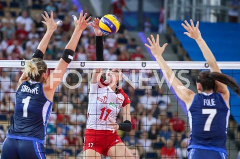 AGENCJA FOTONEWS - 29.08.2019 LODZ ( POLAND )SIATKOWKA KOBIET MISTRZOSTWA EUROPY KOBIET CEV EUROVOLLEY 2019 WOMEN EUROPEAN CHAMPIONSHIP MECZ POLSKA - WLOCHY ( Poland - Italy ) N/Z MALWINA SMARZEK GODEK FOT ARTUR MARCINKOWSKI / FOTONEWS