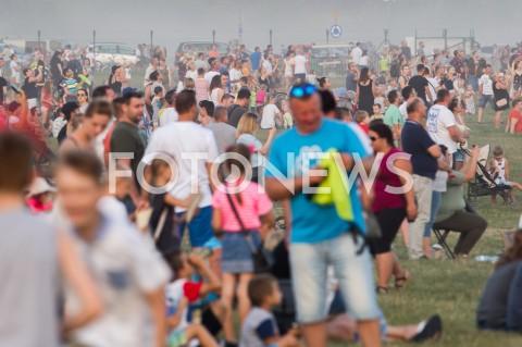 AGENCJA FOTONEWS - 31.08.2019 LOTNISKO RZESZOW JASIONKA CENTRALNE POKAZY LOTNICZE Z OKAZJI 100-LECIA AEROKLUBU POLSKIEGO N/Z WIDZOWIEFOT MACIEJ GOCLON / FOTONEWS