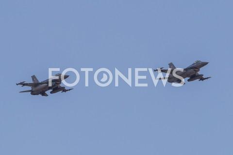 AGENCJA FOTONEWS - 31.08.2019 LOTNISKO RZESZOW JASIONKA CENTRALNE POKAZY LOTNICZE Z OKAZJI 100-LECIA AEROKLUBU POLSKIEGO N/Z SAMOLOTY WOJSKOWE F-16 FIGHTING FALCON SILY POWIETRZNE RPFOT MACIEJ GOCLON / FOTONEWS