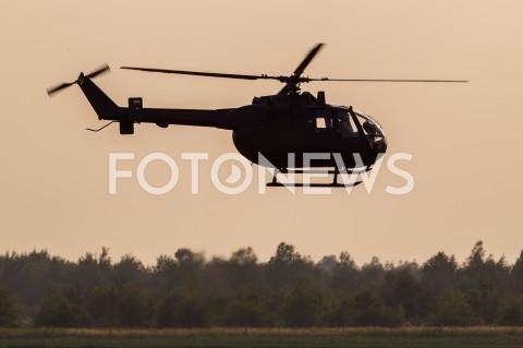 AGENCJA FOTONEWS - 31.08.2019 LOTNISKO RZESZOW JASIONKA CENTRALNE POKAZY LOTNICZE Z OKAZJI 100-LECIA AEROKLUBU POLSKIEGO N/Z SMIGLOWIEC HELIKOPTER BOLKOW BO-105 REJESTRACJA SP-NCM PILOT MARIA MUS FOT MACIEJ GOCLON / FOTONEWS