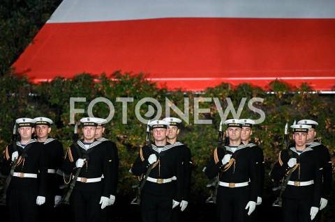 AGENCJA FOTONEWS - 01.09.2019 GDANSKOBCHODY 80. ROCZNICY WYBUCHU II WOJNY SWIATOWEJ NA WESTERPLATTE(Commemorative ceremony at Westerplatte ? 80th anniversary of the outbreak of the Second World War)N/Z KOMPANIA REPREZENTACYJNA MARYNARKI WOJENNEJ RPFOT MATEUSZ SLODKOWSKI / FOTONEWS