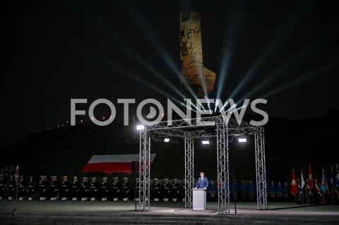 AGENCJA FOTONEWS - 01.09.2019 GDANSKOBCHODY 80. ROCZNICY WYBUCHU II WOJNY SWIATOWEJ NA WESTERPLATTE(Commemorative ceremony at Westerplatte ? 80th anniversary of the outbreak of the Second World War)N/Z MATEUSZ MORAWIECKIFOT MATEUSZ SLODKOWSKI / FOTONEWS